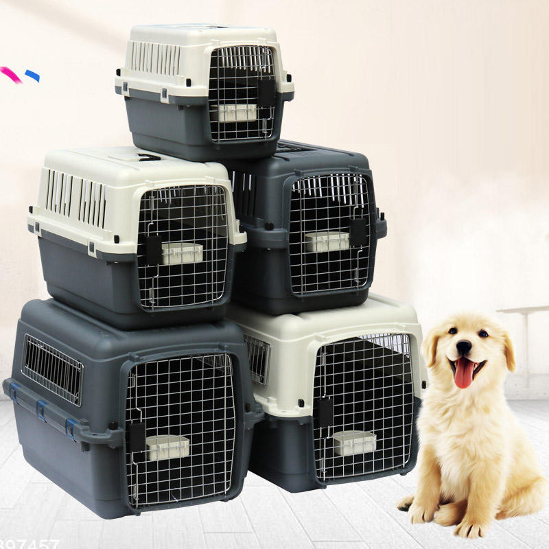 dog and cat pet carrier and travel crate dog and cat cages