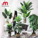 Manufacturer artificial potted plants trees 3ft-6ft rubber leaves plastic bonsai