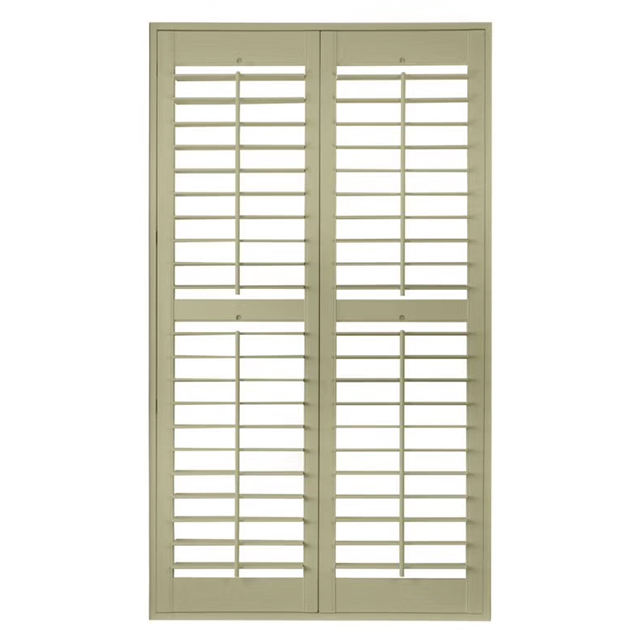 Pvc Plantation Shutters Solid Wood Louvers Window Shutters Sliding Folding Pvc Plantation Shutter