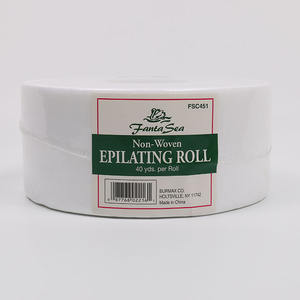 Professional Delicate Cotton Natural Non Woven Strip Wax