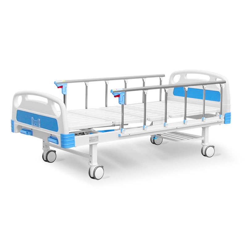 Hospital patient bed 2 functions clinic bed ABS medicall bed