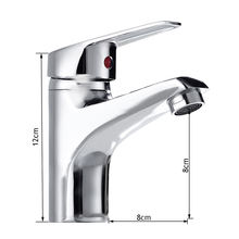 Modern sanitary set single lever tap single hole bathroom basin sink mixer faucet