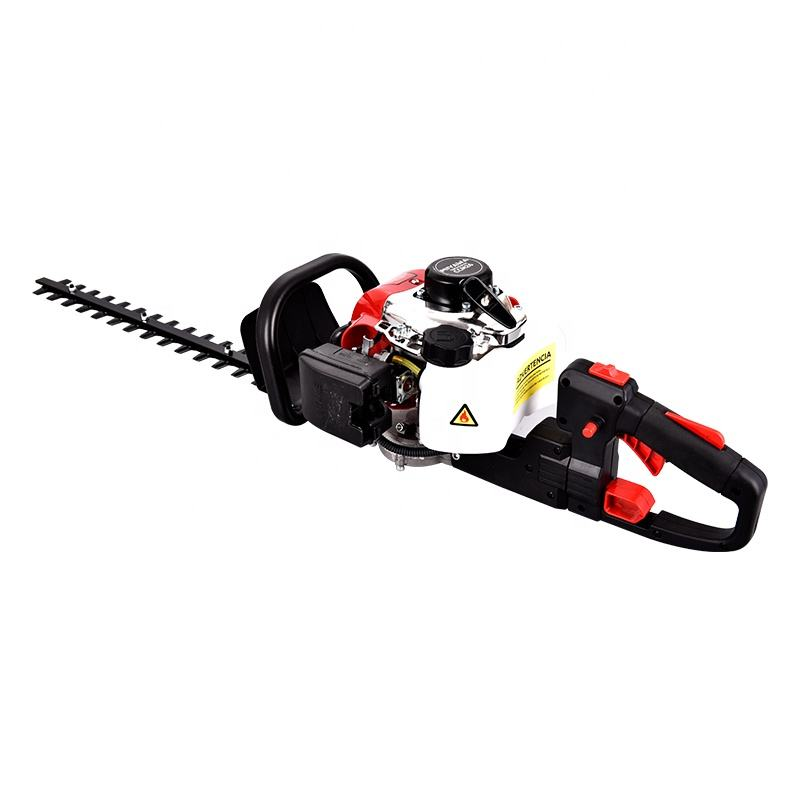 1Pc Price 22.5CC Gasoline Powered 600mm Garden Trimmer Double Blade Petrol Hedge Trimmer
