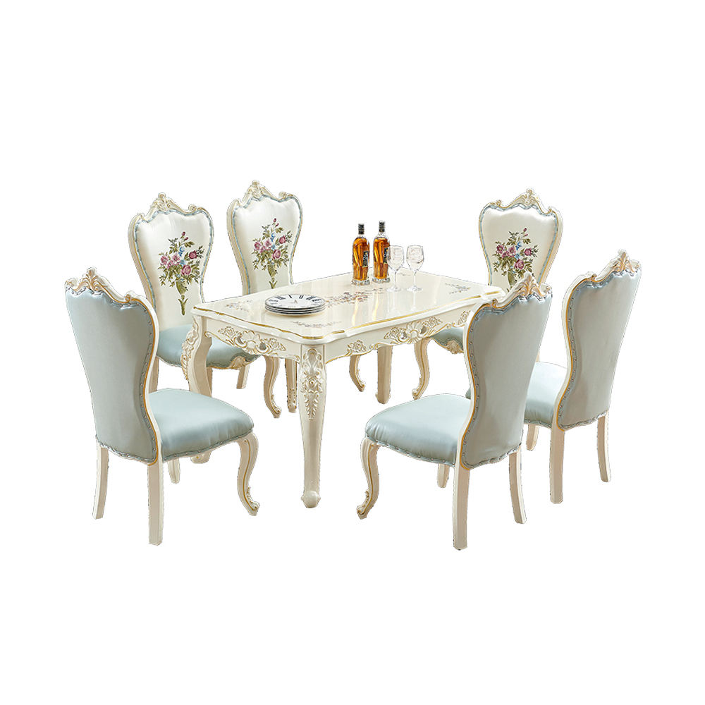 Home Furniture Smart Dining Table Marble Dining Table Set With Chairs On Sale