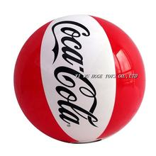 Top quality customized pvc inflatable beach ball with custom logo printing