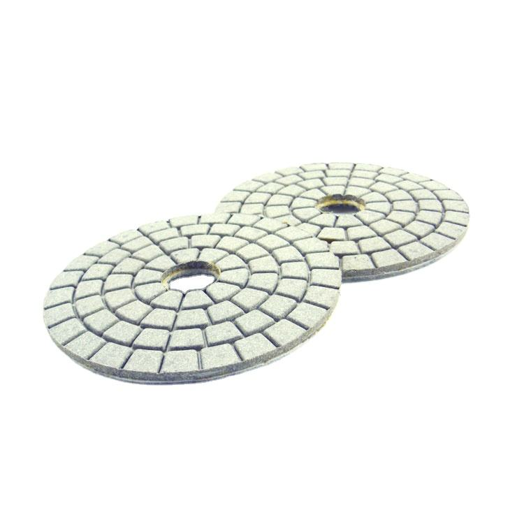 Diameter 100mm 4 inch wet Diamond resin Polishing Pads For Polishing Cement Tiles Floor polishing pad