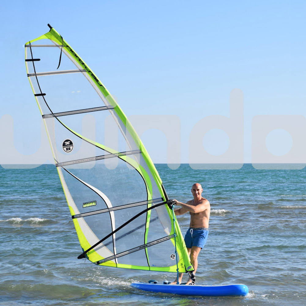 10'x30''x6 Dubbellaags Materiaal Drop Steek Fabriek Surfplank Wind Sup Stand Up Paddle Board Opblaasbare Windsurf Zonder Zeil