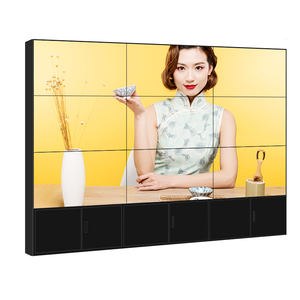 Ultra parlak Video duvar Tv Samsung reklam ekranı 55 inç Lcd Panel