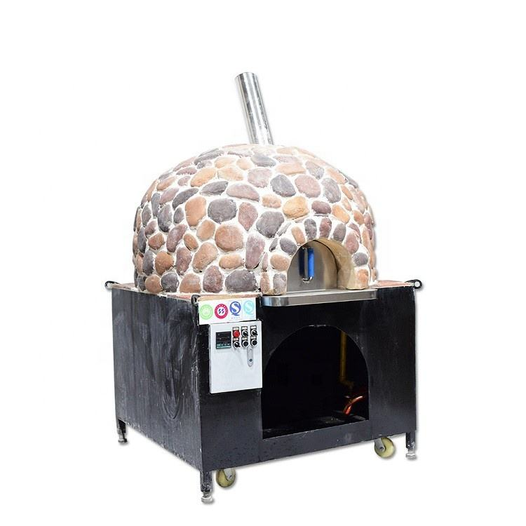Hot Sales Bakkerij Apparatuur Indoor Steen Gas Oven Pizza