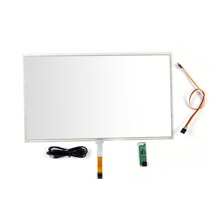 wholesale 17.3 inch 5 wire touch screen 10ms resistive touch screen panel for Education, TV, Laptop, Industry