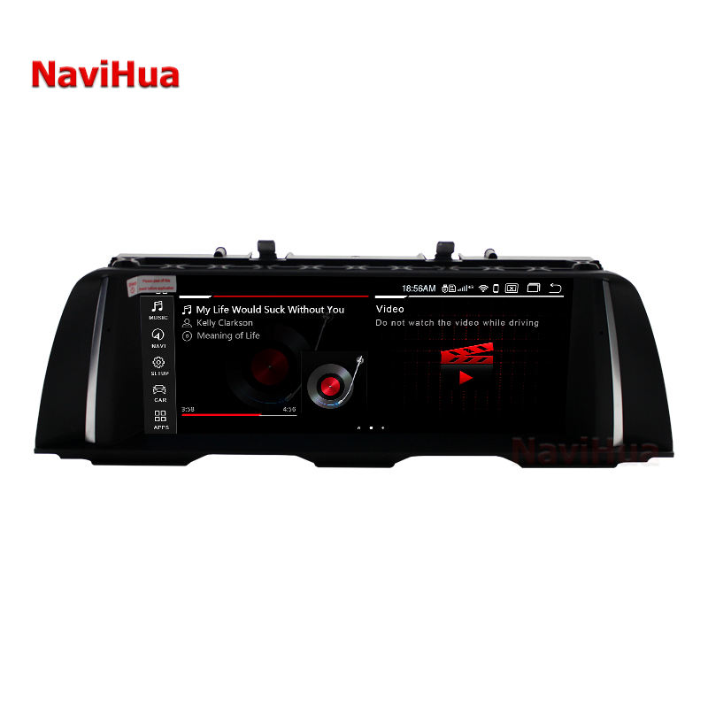 Navihua DVD android 10,25 pulgadas IPS 4 + 64G multimedia sistema de video para BMW X3 X4 F25 F26 2011-2013Car autoradio reproductor de radio 4G