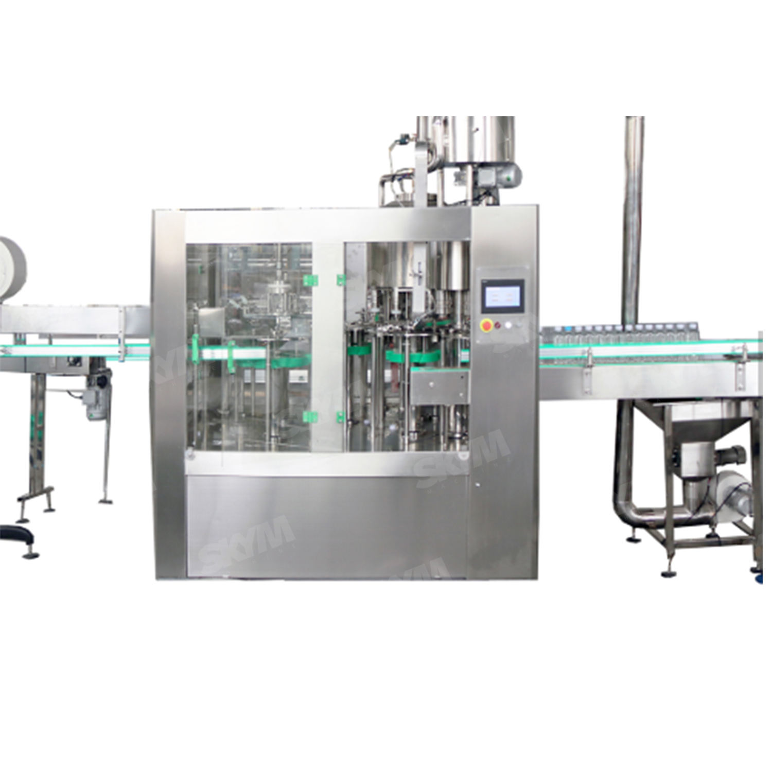 Whole Set PLC Controlled Basic Capacity Africa Widely Applied Semi Automatic Water Bottling Machine