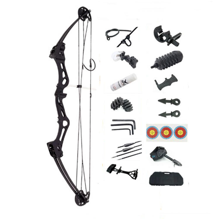 High Quality Al-Mg Alloy Material Archery 60 Lbs S1 Hunting Compound Bow Set for Shooting