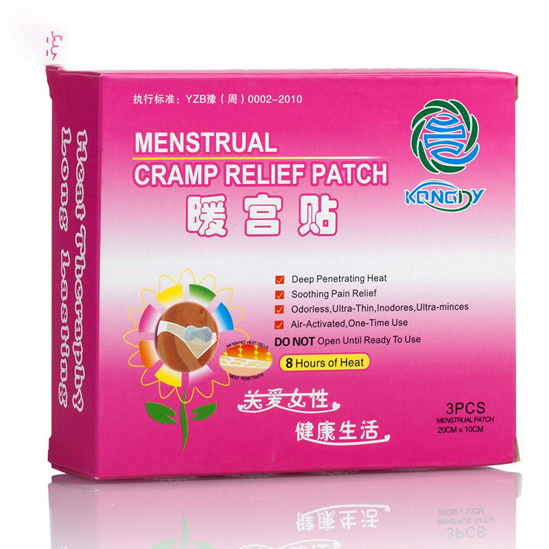 Disposable body conform Heat Patch menstrual cramps pain relief heat patch