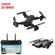 SG700-D folding drone with 20mins flight time optical flow 1080P HD dual camera aerial four-axis aircraft drone helicopter