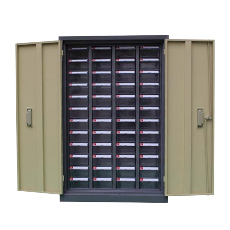 lockable nails beads small plastic parts production workshop drawer cabinet metal storage cabinet