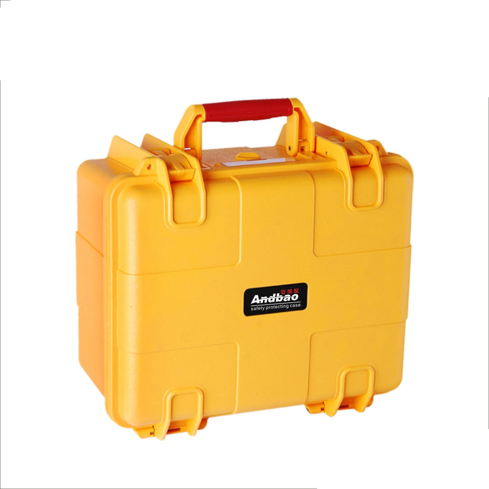 Andbao factory custom EVA foam IP67 hard ABS plastic small tool case for electronic equipment