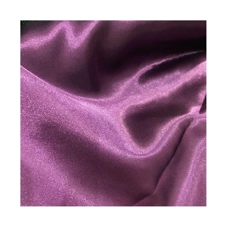 Lujo Bling Lila pesada tapicería textil Cortina De Terciopelo machacado Sofá