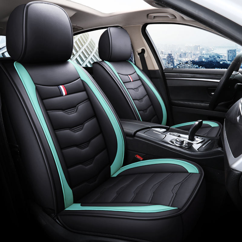 RTS Factory Direct High Quality Universal Use PVC PU Leather Car Seat Cover Seat Cushion Waterproof