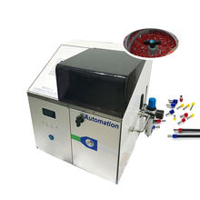EW-50D Semi-automatic Wire Stripping and Crimping Machine, terminal stripper crimper