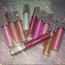 high glitter shiny lip gloss private label cosmetics makeup lip gloss base gel vegan lip gloss