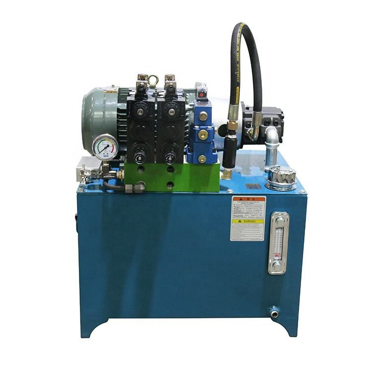 China oil leak-proof double acting 12v dc hydraulic power unit