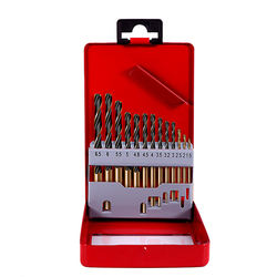 HSS Twist Drill Bit for Metal Titanium Coated High Speed Steel Drilling Bits Set Power Tools Accessories