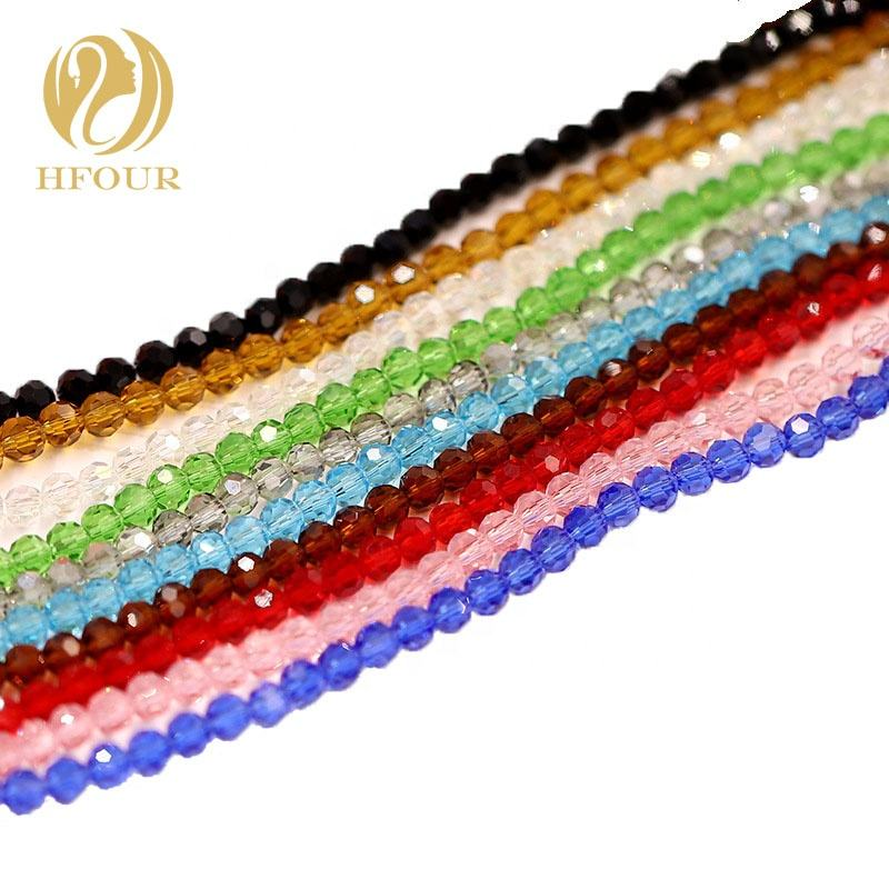Wholesales 6mm Crystal Glass Beads For Jewelry Making