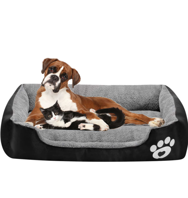 Mechanical Wash Bed China Orthopedic Dog Bed Comfy Calming Memory Foam Dog Pet Bed