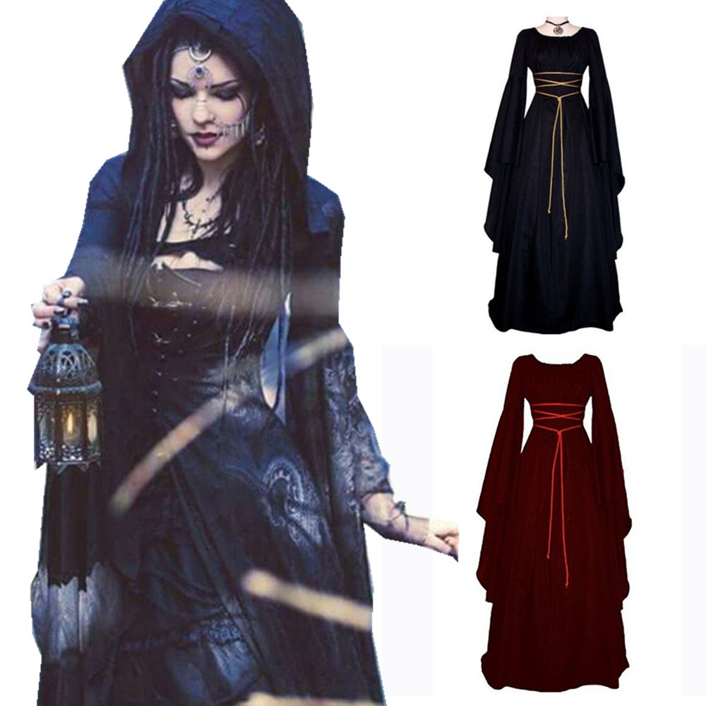 Elegant Palace Halloween Victorian Gothic Lolita Dress Fantasias Cosplay Costume