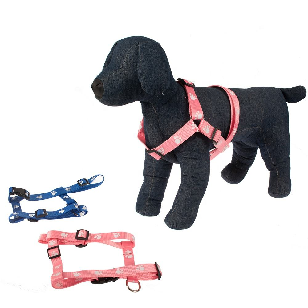 Hefei SY Low cost competitive price superior purple nylon dog harness for dogs walking