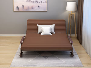 2020 Hot selling bedroom furnitures metal bed single wall sofa bed folding chair bed