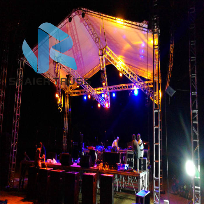 Free shipping head lighting concert stage dj aluminum event truss nigeria
