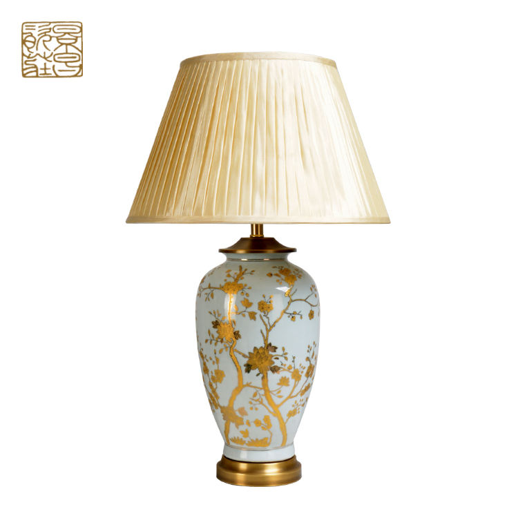 New arrival bed side home decorative table lamp reading led ceramic table light
