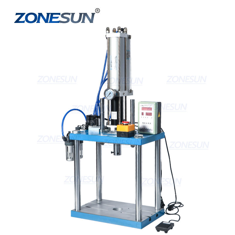ZONESUN ZS-P3T Pneumatic High Speed Press Semi Automatic Metal Leather Eyelet Hole Punching Machines