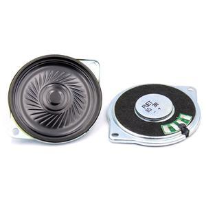 Runder interner Magent Lautsprecher 8Ohm 2W Wasserdichte Lautsprecherteile