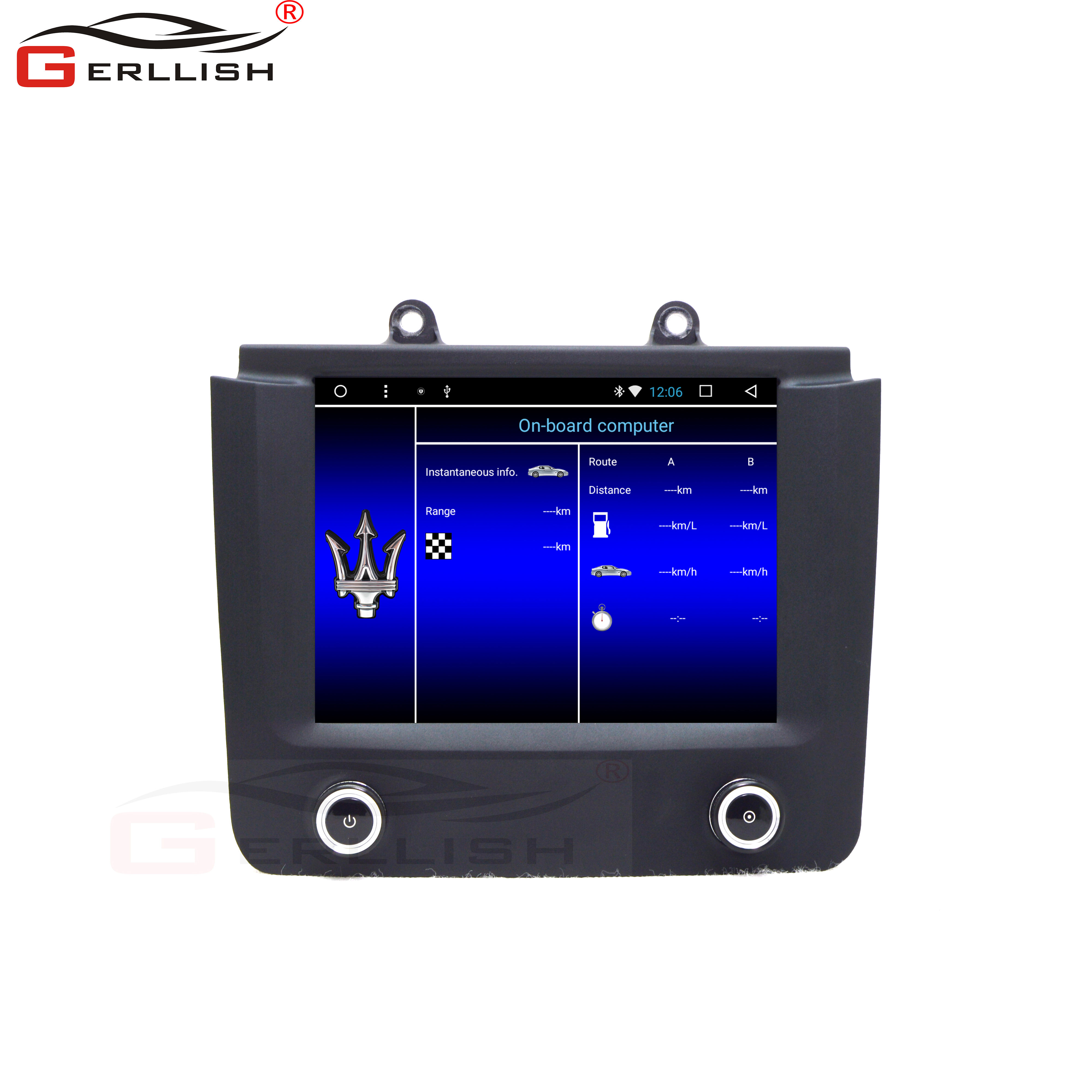Android car dvd player for Maserati GT GranTurismo 2007-2019 with DSP Stereo Audio Online GPS BT WiFi Online Video