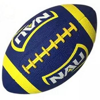 RUGBY BALL IN ALL RUBBER AT SIZES 1/3/6/9