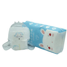 Hot-Sale High Absorbent Non-woven Elastic Waist Band Disposable Baby Diaper
