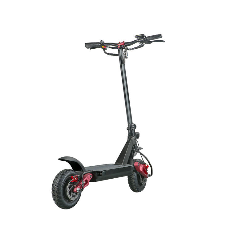 European warehouse 3600w EcoRider E4-9 folding electric scooter popular 2000w electric scooter for adult
