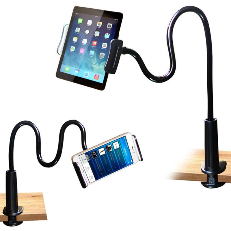 2020 Newest Cell Phone Accessories Rotating Flexible Lazy Gooseneck Cell Phone Holder Tablet Stand Phone Desk Holder