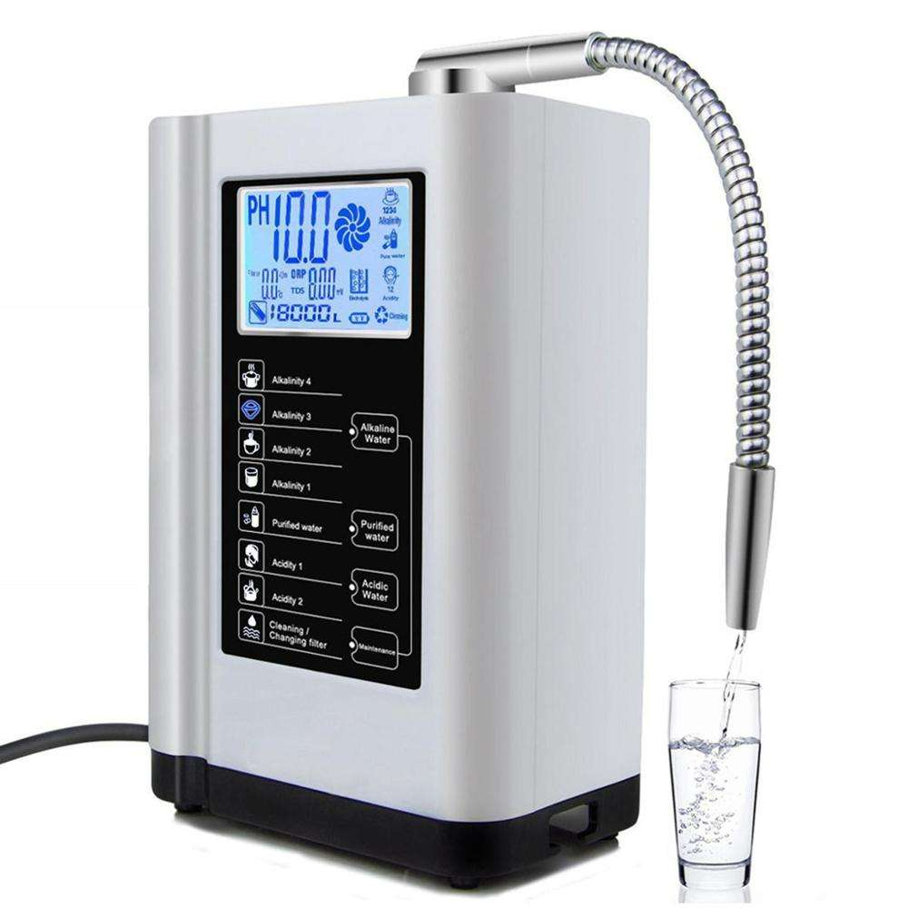Household countertop hot cold ro water purifier with 7L water tank