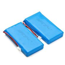 2s1p rechargeable li ion polymer battery pack 7.4v 6000mah