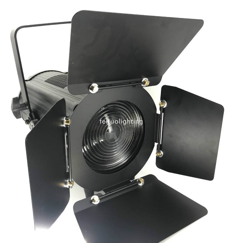 10pcs LED Profile Spot Ellipsoidal Zoom 150W Warm White Or Cool White LED Fresnel Spot light with manual zoom dmx light