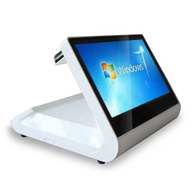 Hot sale 15.6 11.6 inch Touch POS machine Epos system Windows Android With printer face Recognition for shop