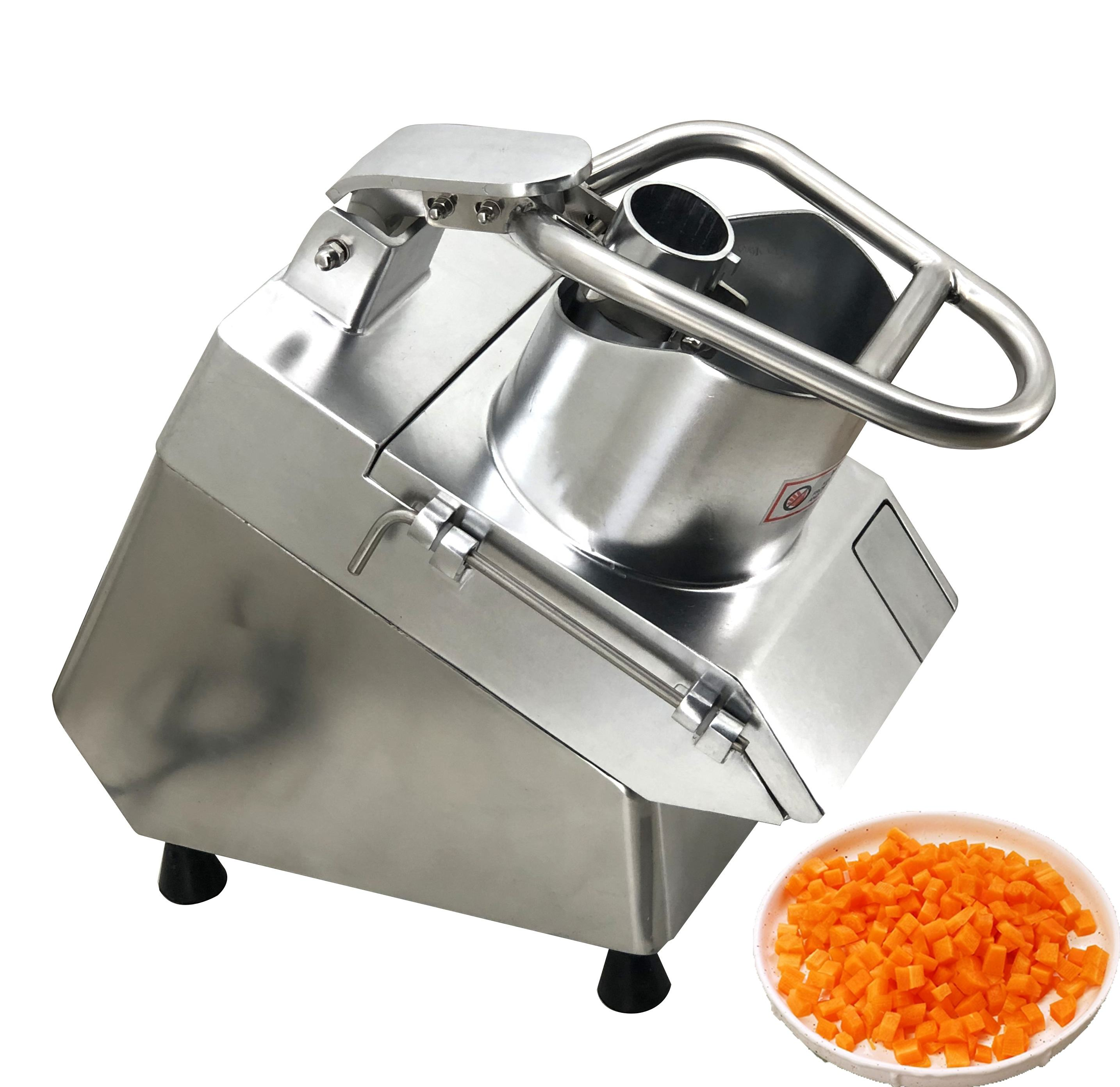 Vegetable Cutter All In One Vegetable Cutter Dicer Commercial Diced Radish Machine