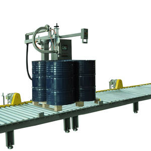 solvent oil drum filler viscous liquid propane filling machine