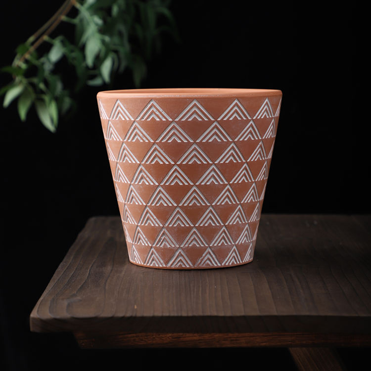 Cheap price factory supply modern hotel ornaments terra cotta garden pot planter for home decor