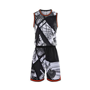 High Quality Customized Sleeveless Loose Quick Dry Reversible Mesh Sports Basketball Uniforms
