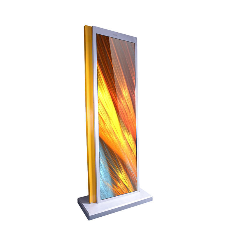 65 inch multimedia touch advertising kiosk display